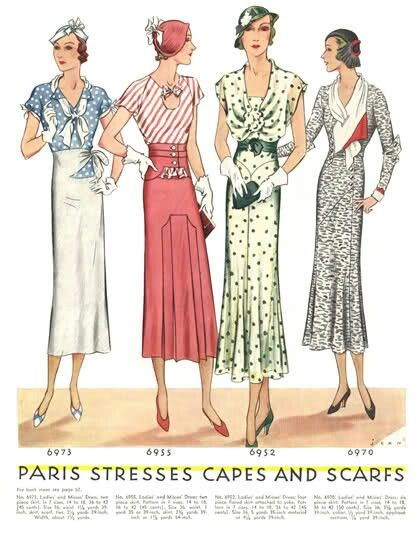 Paris stresses capes and scarves | 1920s/1930s style | Pinterest