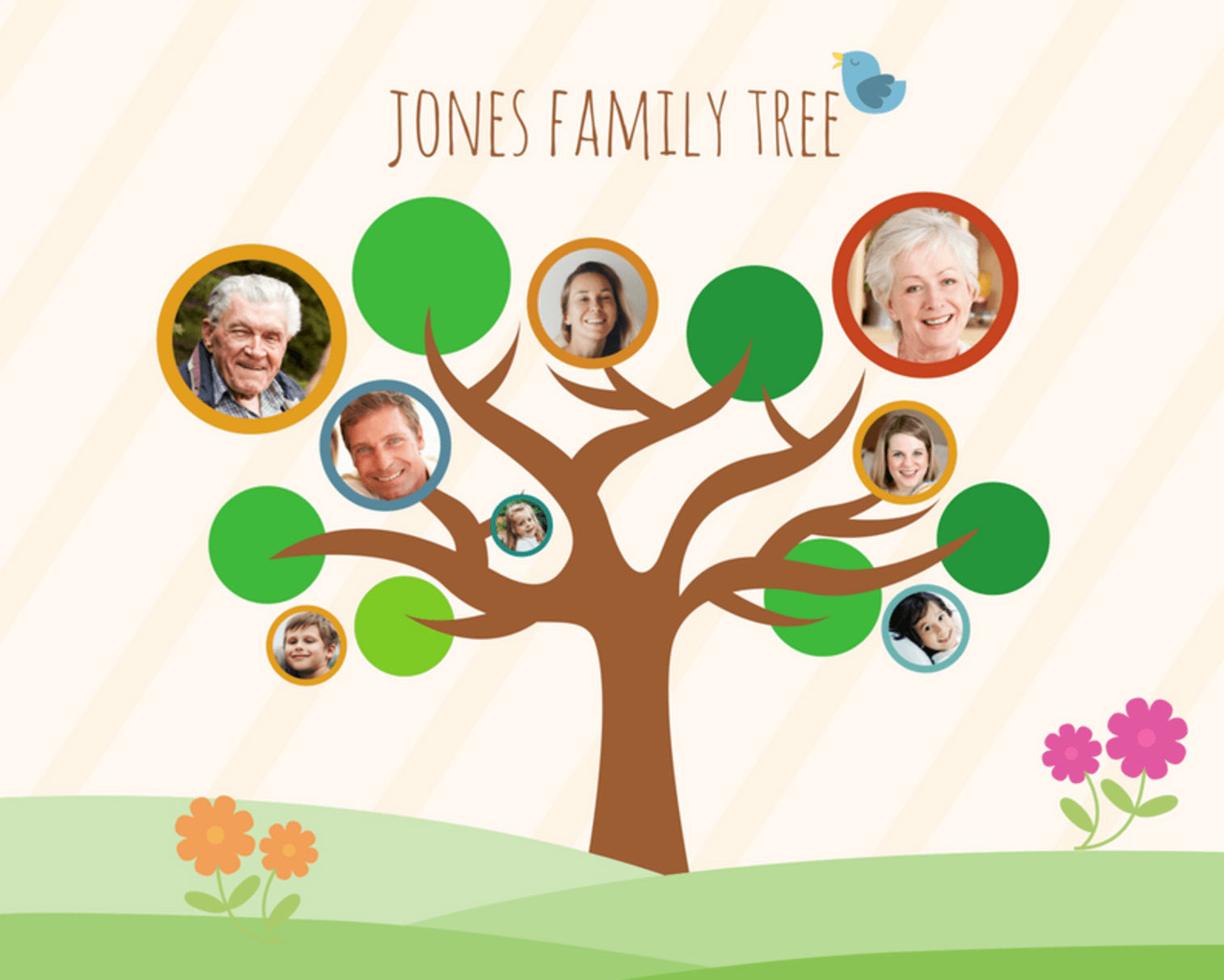 build a custom diy family tree for free with canva s impressively