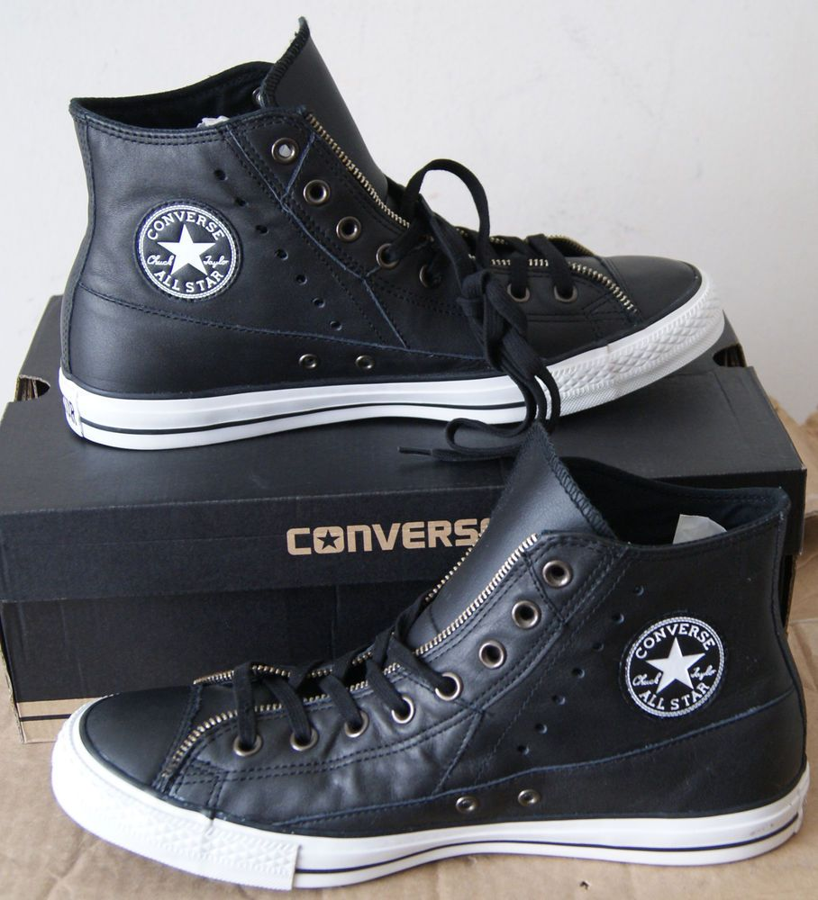 NEW AUTHENTIC CONVERSE CHUCK TAYLOR MOTORCYCLE JACKET HI
