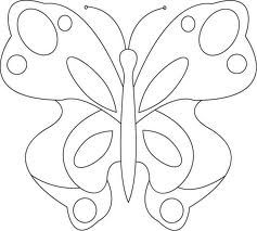 Applique Butterfly Template  Google Search  Knutselen
