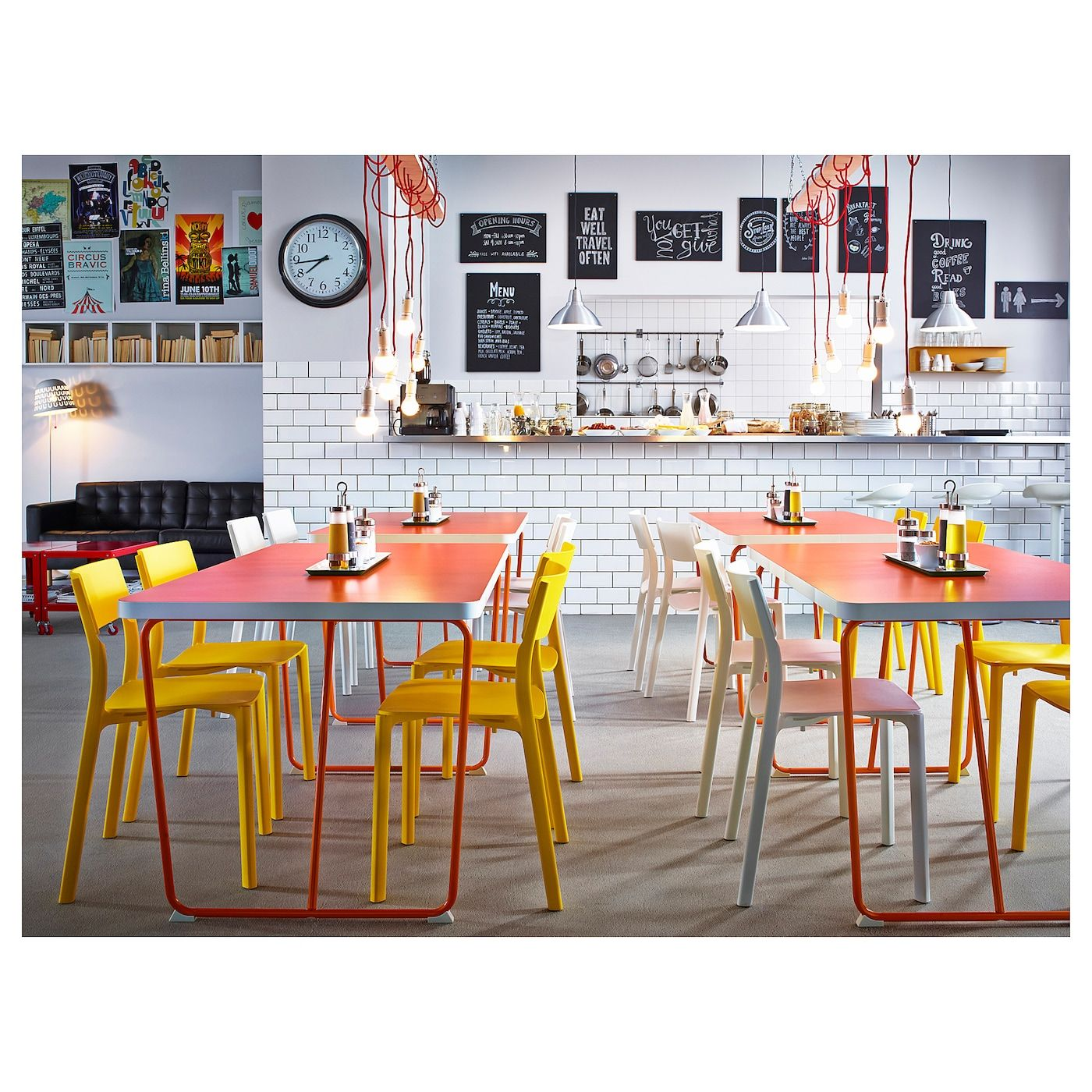 JANINGE Chair - yellow - IKEA in 9  Cafe furniture, Restaurant