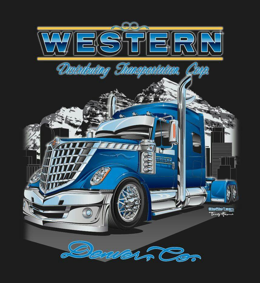 Big Rig Tee Logo 3 Truck art, Big trucks, Big rig trucks
