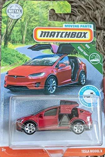 Amazon Com Matchbox 2019 Moving Parts Tesla Model X Kitchen Dining Tesla Model X Tesla Model Matchbox