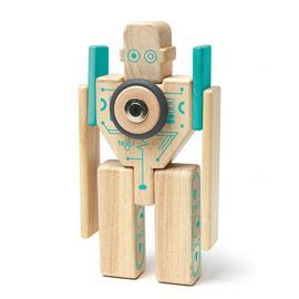 Wooden Magnetic Robot Blocks Magnetic Wooden Blocks Tegu Blocks Tegu