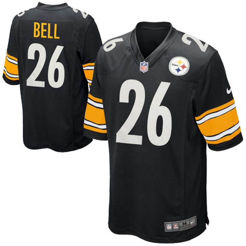 Le Veon Bell Pittsburgh Steelers Nike Youth Team Color Game Jersey - Black 854360fcc