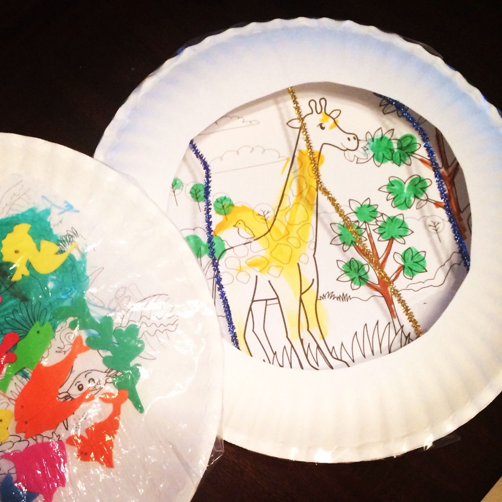 Creating A Zoo Diorama From Coloring Sheets And Paper
