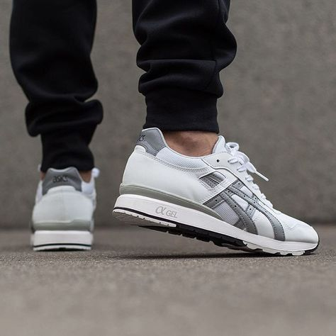 asics gtii 'white/light grey'  sneakers mens shoes