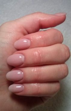 Natural Nail Shape For Acrylics