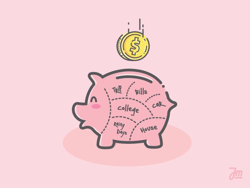 Piggy Bank Piggy Bank Piggy Pig Art
