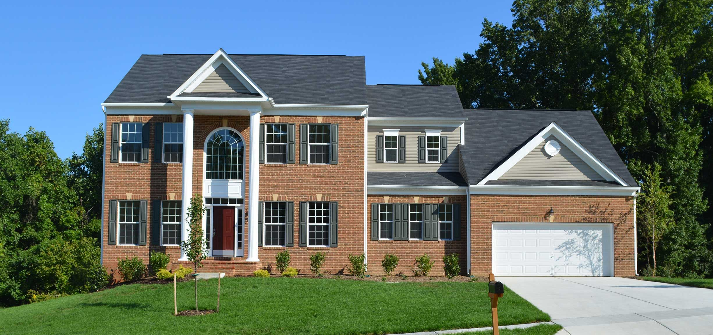 Caruso Homes The Overlook At Hunters Mill House Styles New
