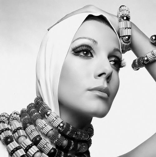 Ivana Bastianello wearing jewelry by Coppola & Toppo Photo by Gian Paolo Barbieri.