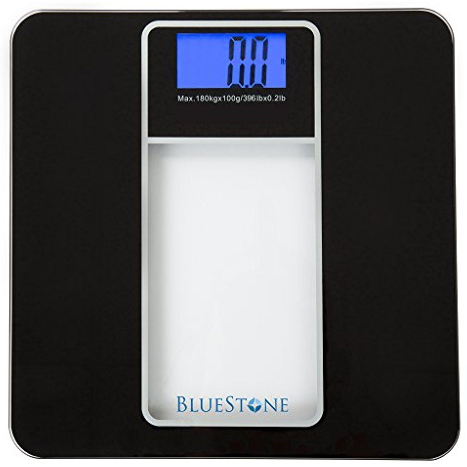 Digital Body Weight Bathroom Scale Battery Operated Cordless Large Lcd Display For Health And Fitness