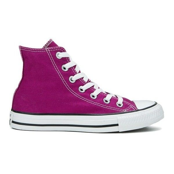 CONVERSE Chuck Taylor Womens Hi Trainers Pink