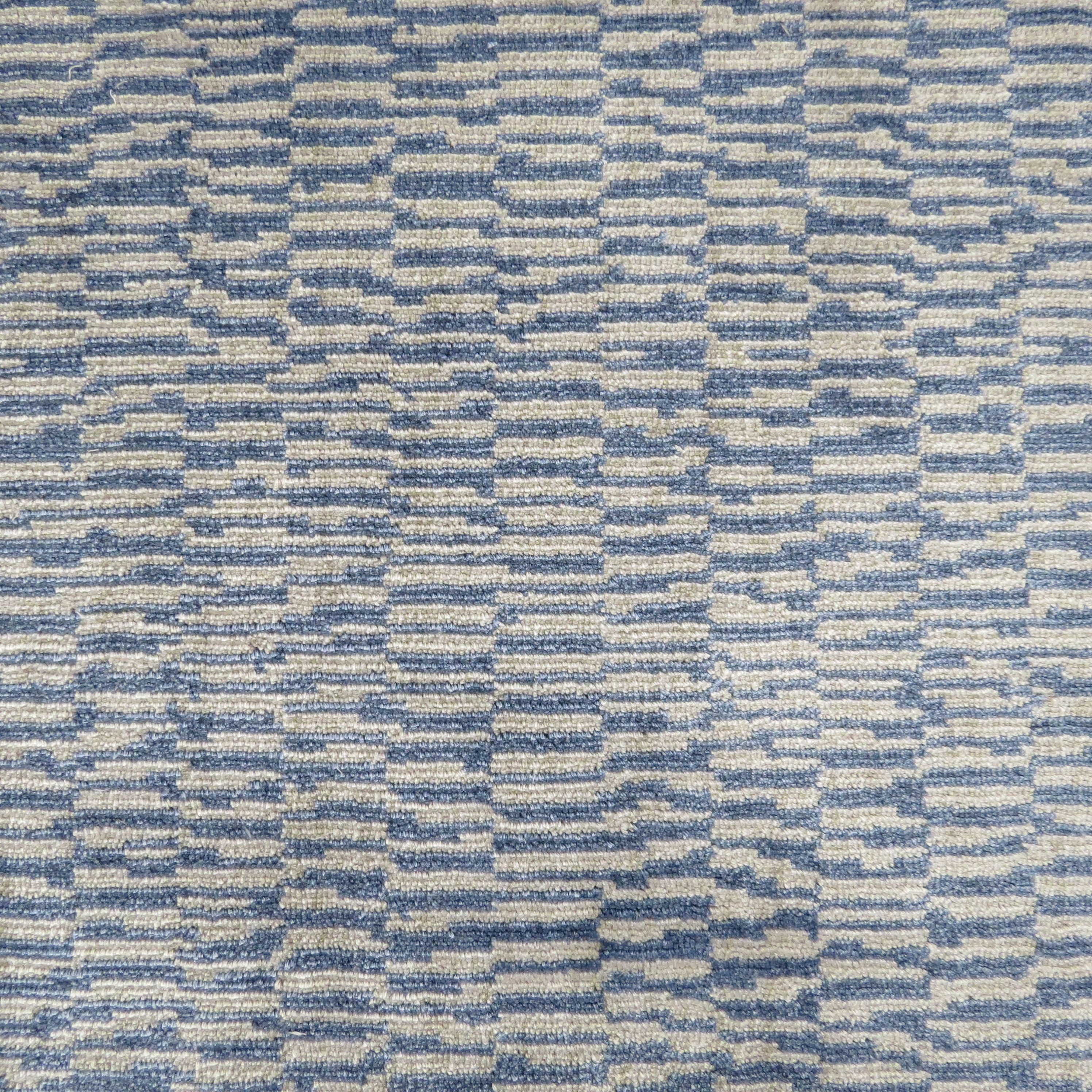 Bellbridge Carpets- Style: Musica Color: Grey/Blue / Collection: Academy