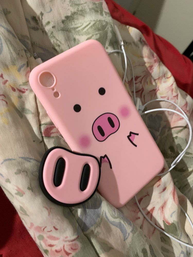 competitive price c37c4 824ca Phone Case - Pig Cover iPhone X XS Max XR Case For iPhone 6 6s 7 8 ...
