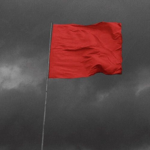 Sending Signals In Red Flags And Waves Lovely Aesthetic Twenty One Pilots Red Aesthetic Red Vs Blue Blue Aesthetic