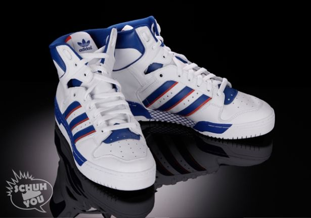 wholesale dealer 655ed 11644 adidas conductor hi new york knicks white, red   blue
