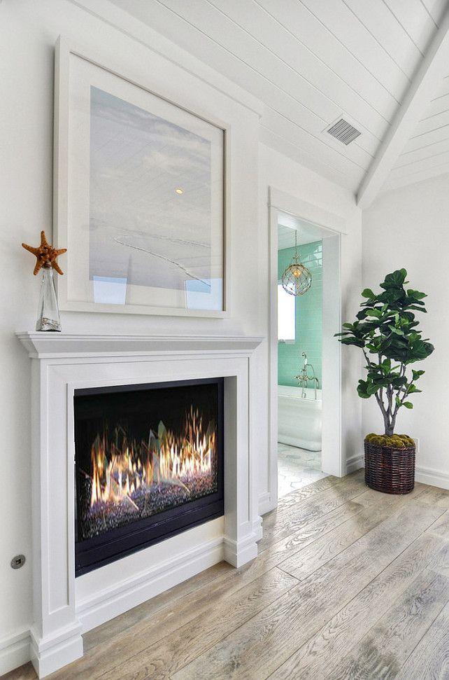 Fireplace. Fireplace Ideas. Fireplace Design. White Fireplace ...