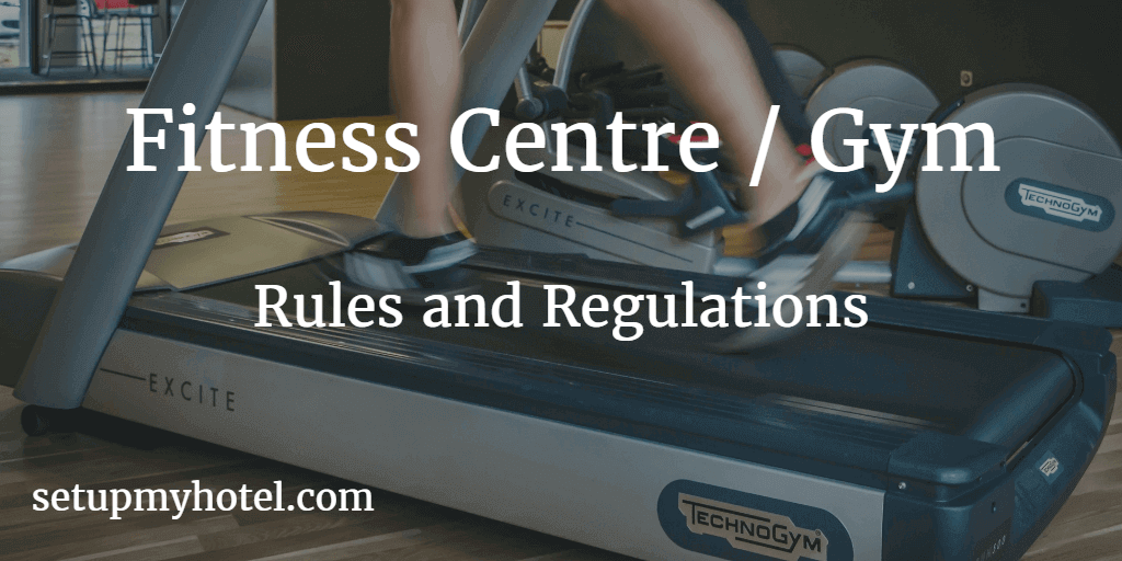 Fitness Centre Rules / Gym Rules and Regulations Sample