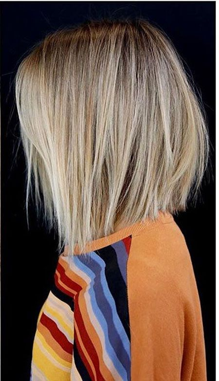 25 Short Hairstyles for Straight Hair -   17 bob hairstyles Straight ideas