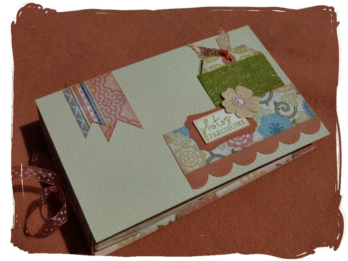 Album rectangulaire - Photos sans tuto