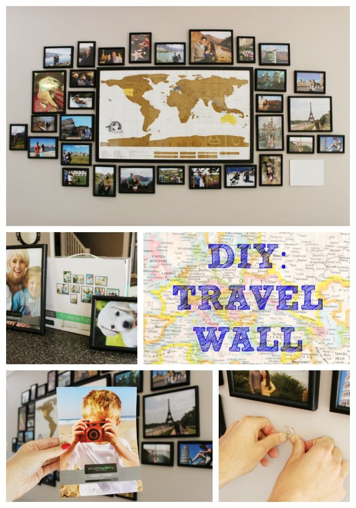 Travel Themed Gallery Wall: One Of My Most Requested Posts/Videos Is About My Travel