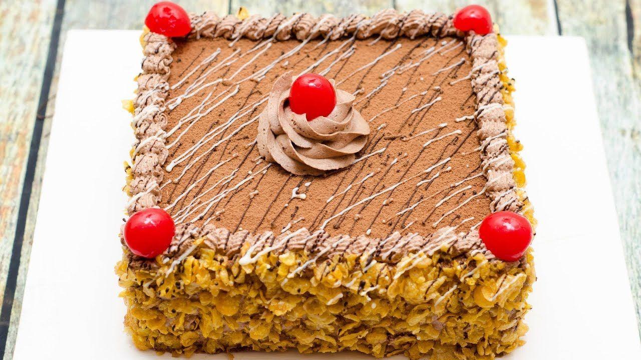 Chocolate oreo cream cake i eggless without oven