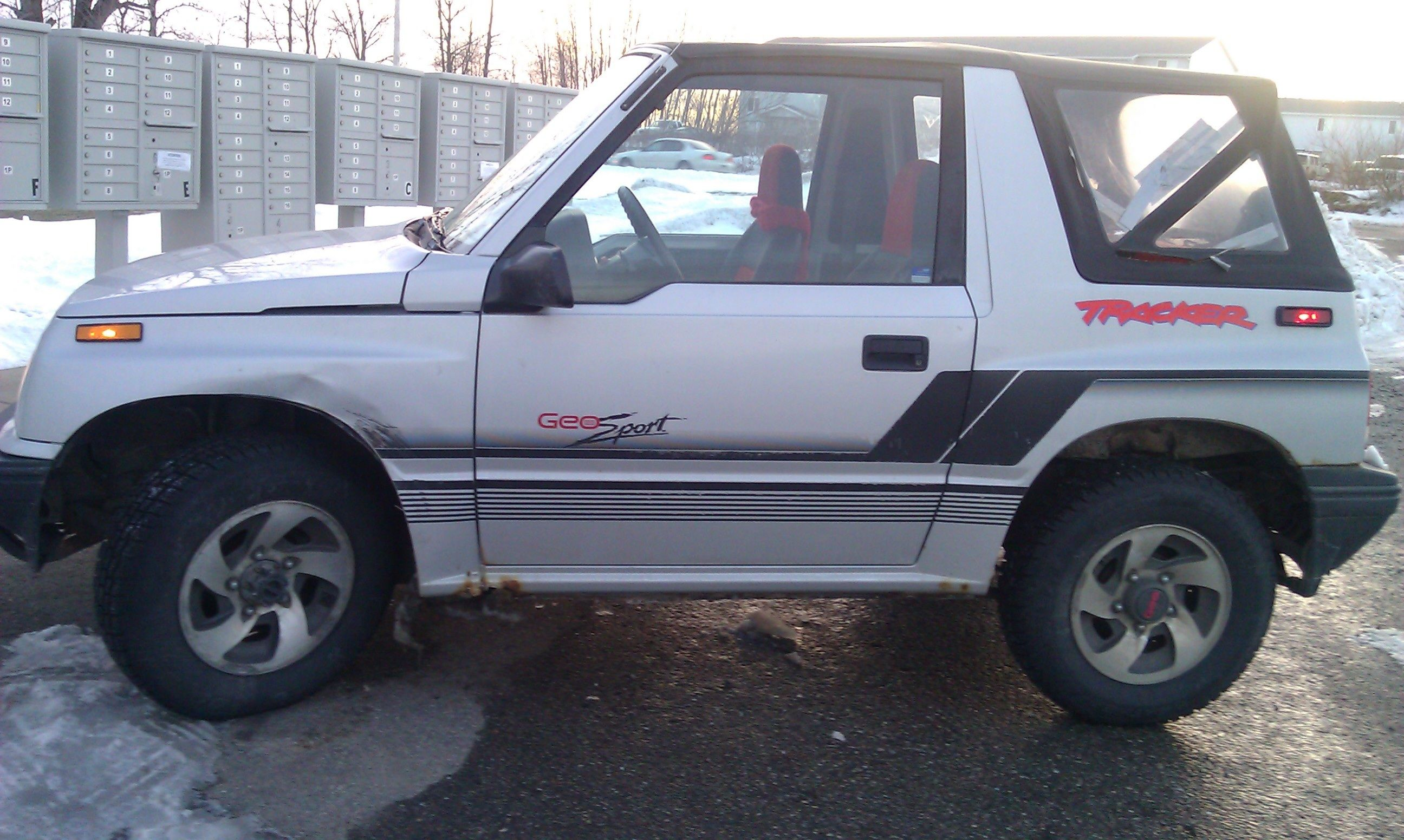 My One True Love My Geo Tracker S Car Suv Car Chevy