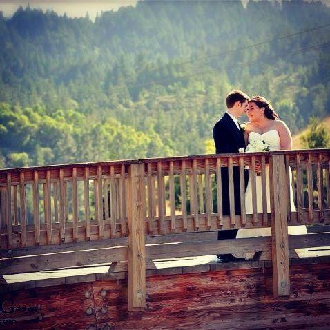 October 8 wedding. San Geronimo CA