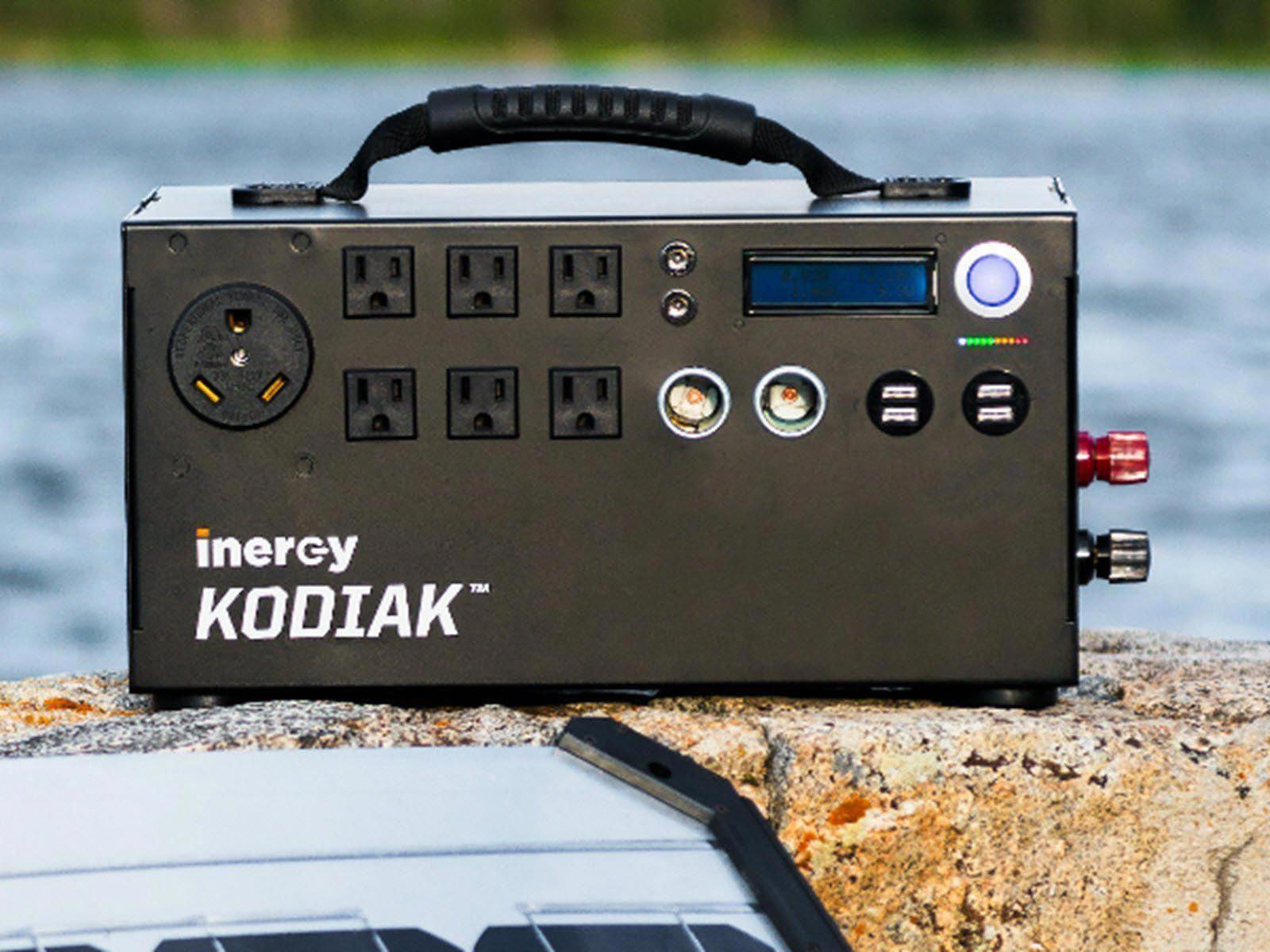 (1875) Kodiak Portable Solar Generator Inergy Solar