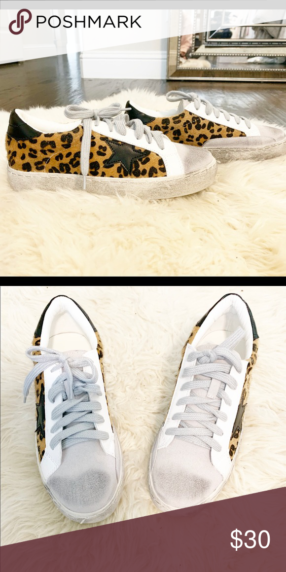 Golden Goose Dupe Sneaker, Leopard The