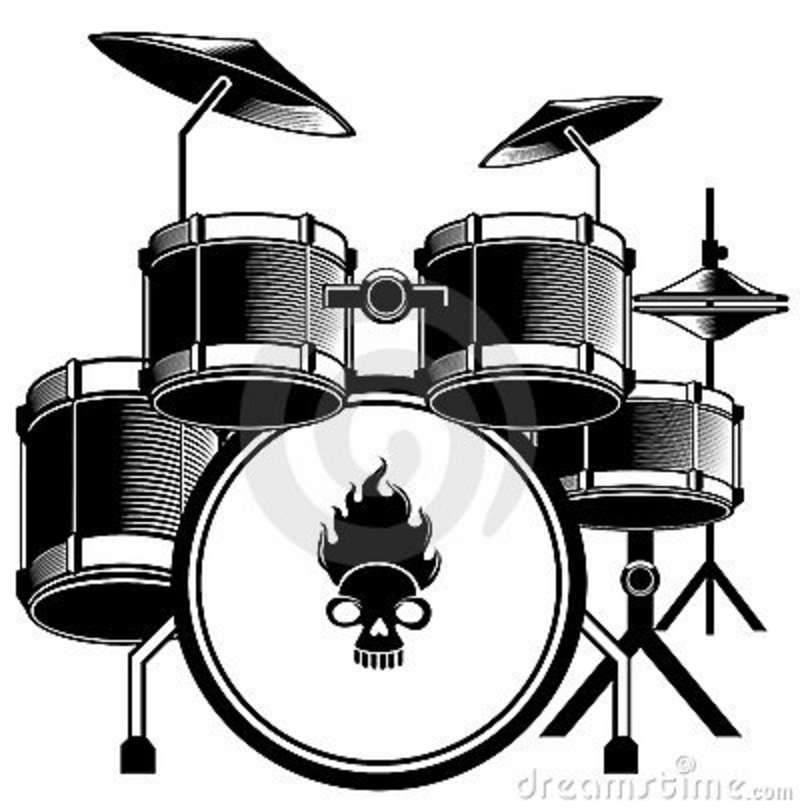 Music Instrument Clipart Black And White Google Search