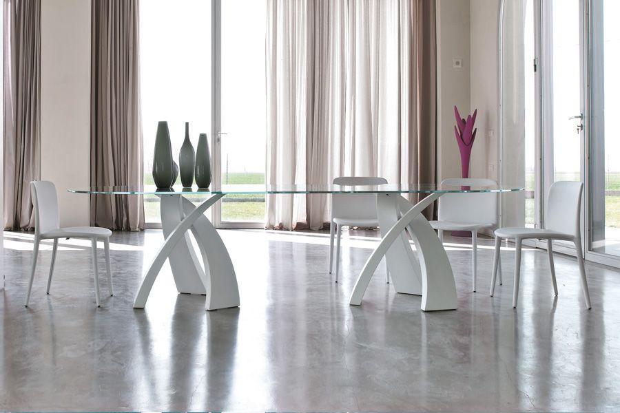 tavolo lungo 3 metri in cristallo | Tavoli da Pranzo | Pinterest