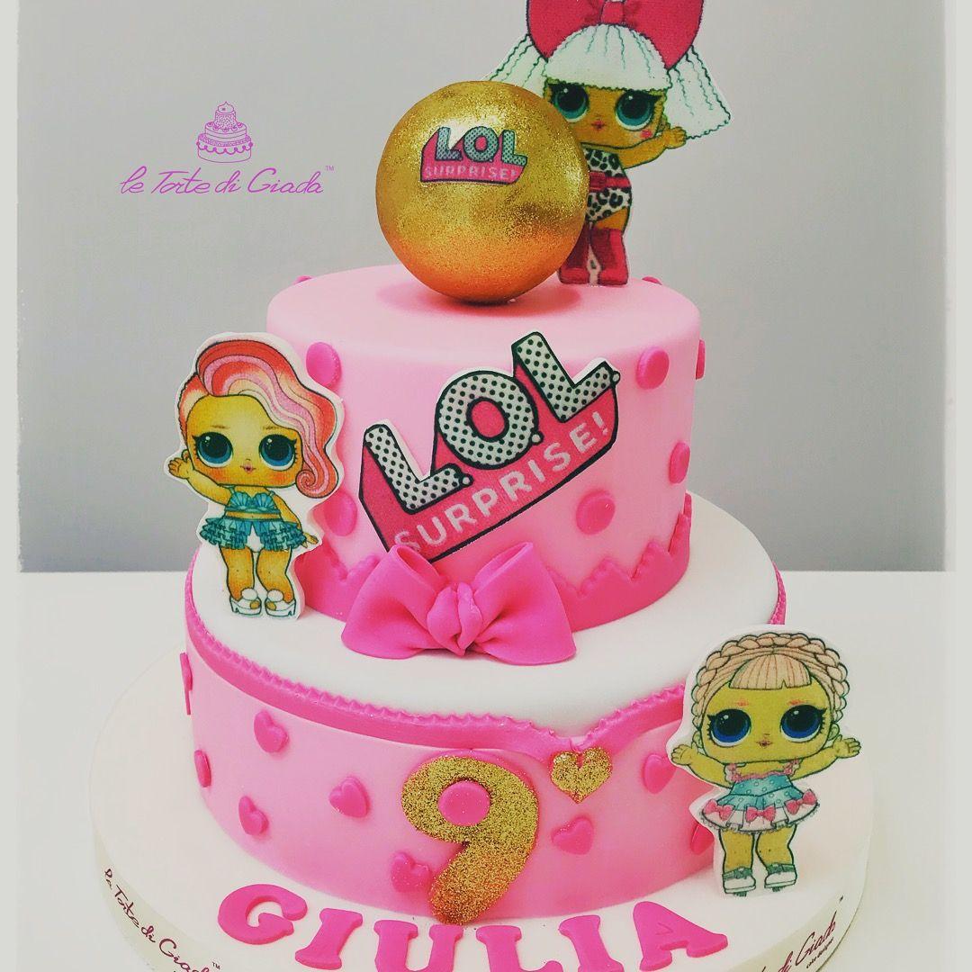 Lol Cake , tantissimo di moda tra le bambine , il cartone animato ha  conquistato anche