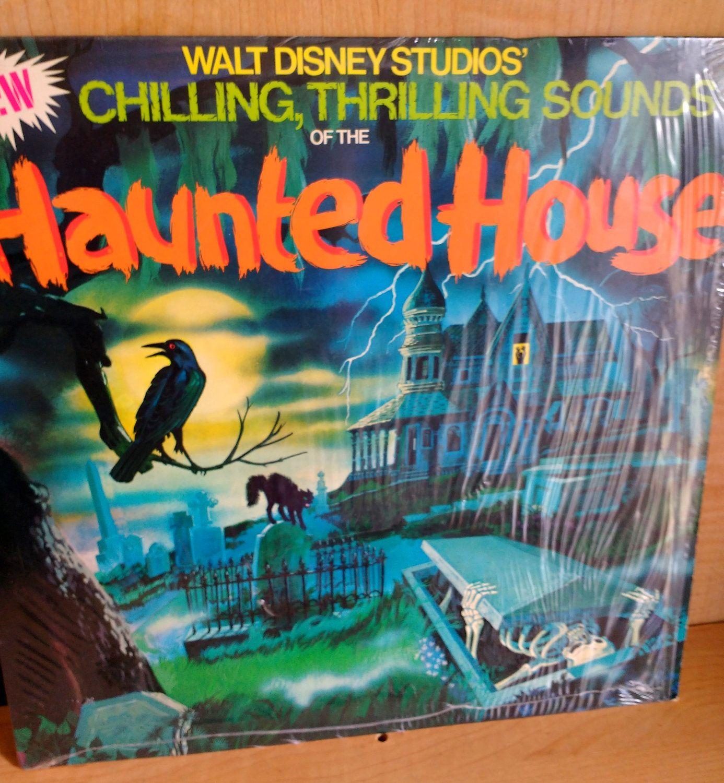 Vintage Disneyland Disney Record Haunted House Sounds 1979 Retro ...