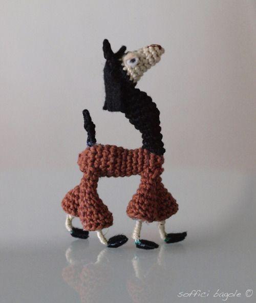 Llama amigurumi Kuzco \