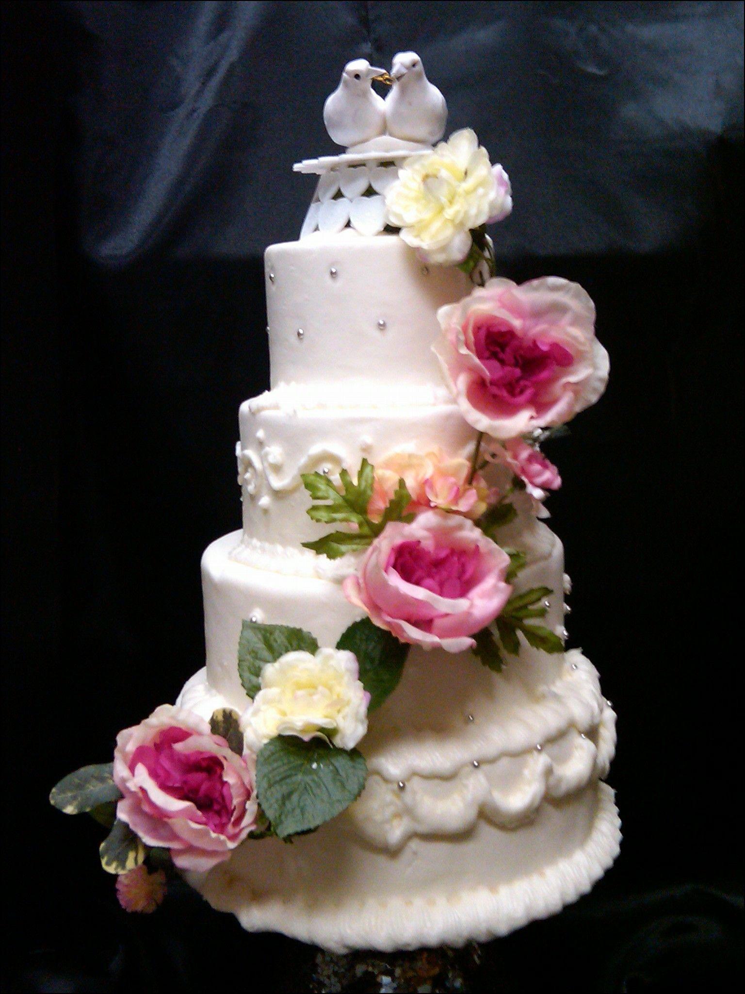 Silk flowers for wedding cakes wedding ideas pinterest silk silk flowers for wedding cakes mightylinksfo