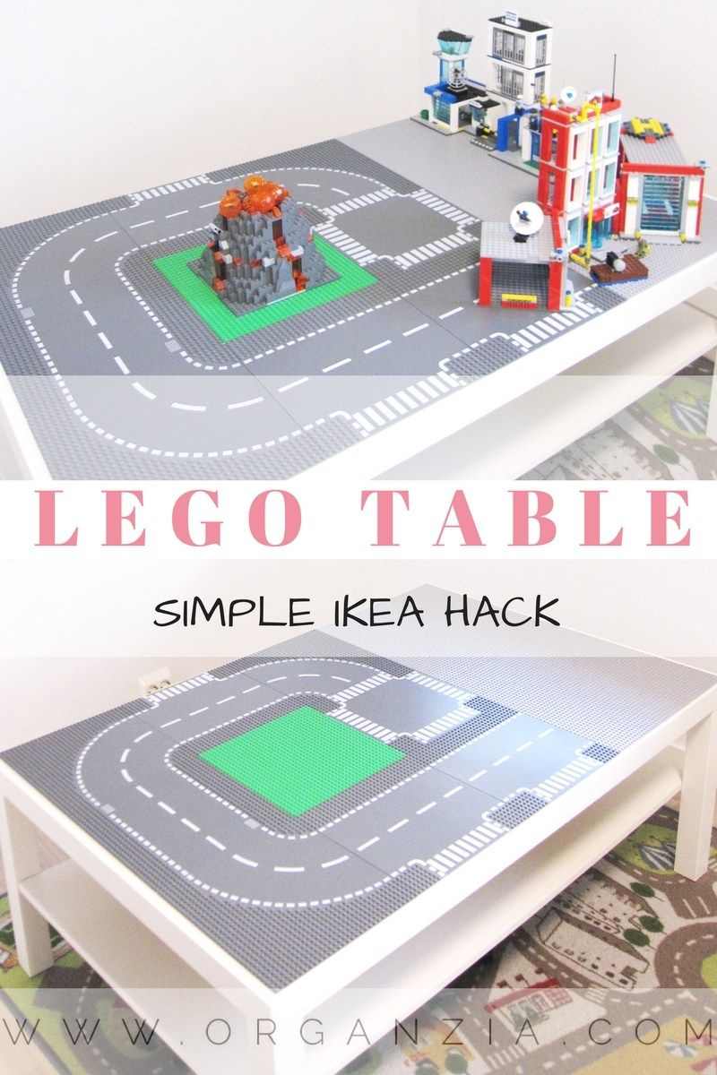 Diy Lego Table Make Your Own Lego Table Simple Ikea Hack Lego Table Ikea Hack Diy Table