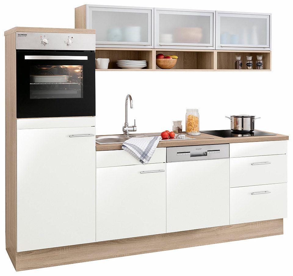 Optifit Kuchenzeile Mit E Geraten Aue Breite 240 Cm Jetzt Bestellen Unter Https Moebel Lad Small Space Kitchen Kitchen Design