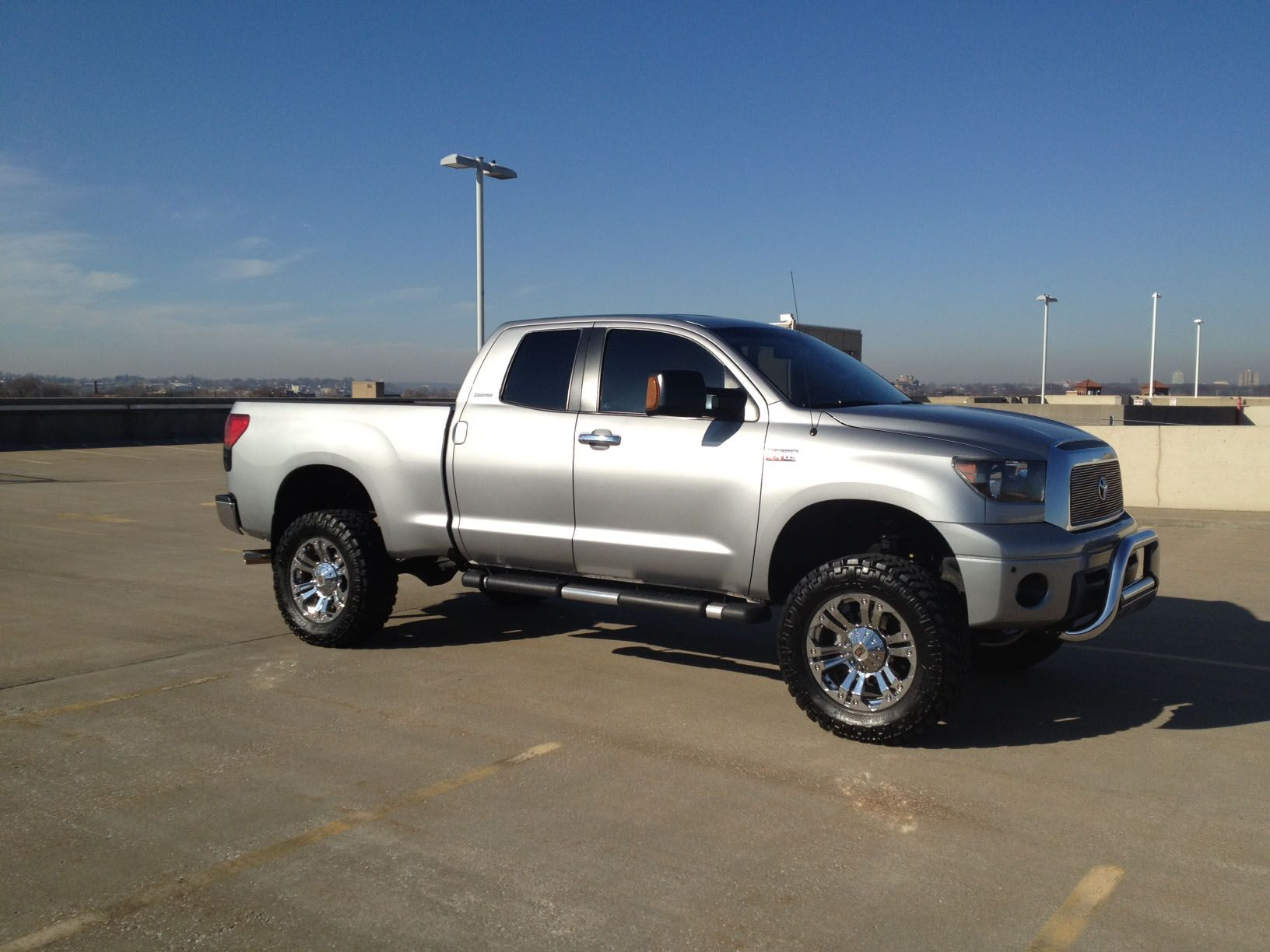 tundra with 7 inch bds lift kits