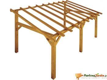 Structure autoportée à en bois Sherwood 15m²