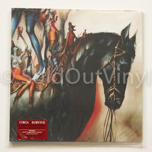 Circa Survive Blue Sky Noise Deluxe Vinyl Limited Edition Lp Vinyl Circa Survive Survival