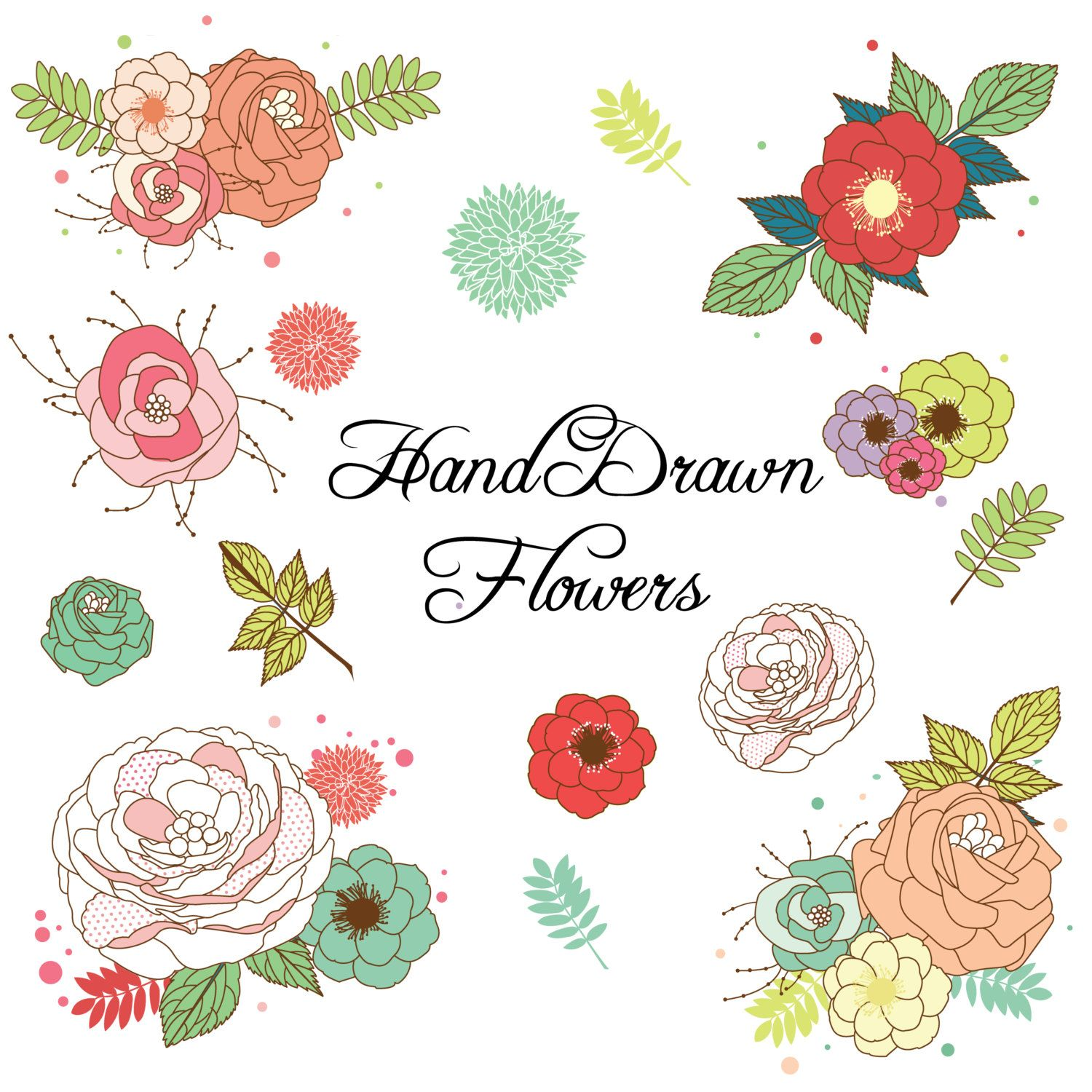 Explore Vector Flowers Flower Clipart And More