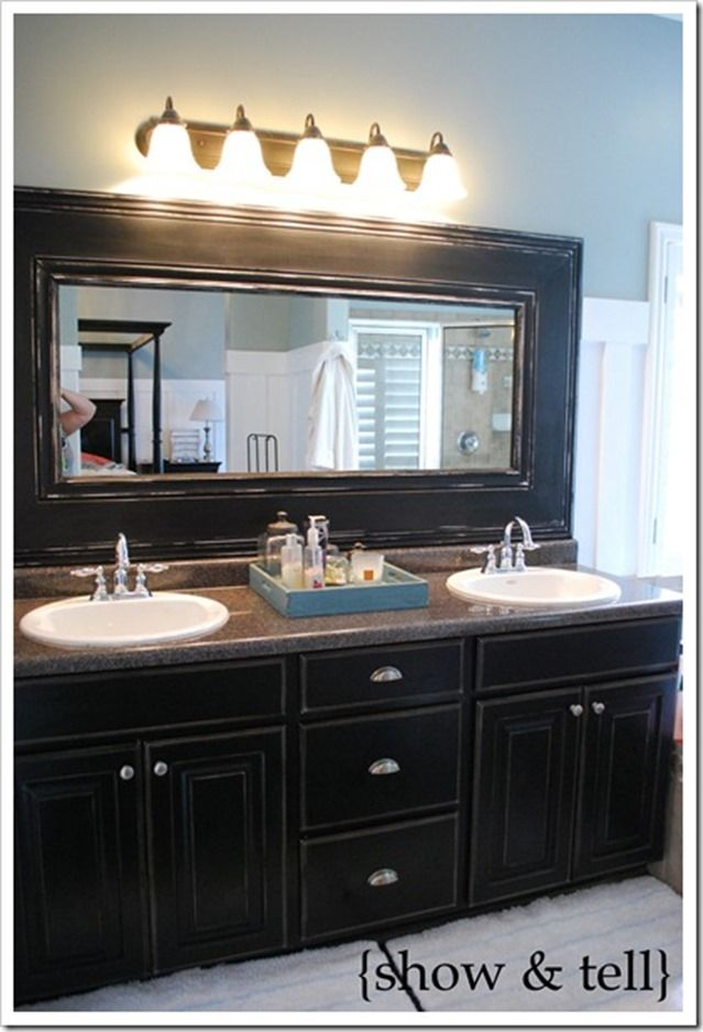 Thick Bathroom Mirror Frame Bathroom Mirrors Diy Bathroom
