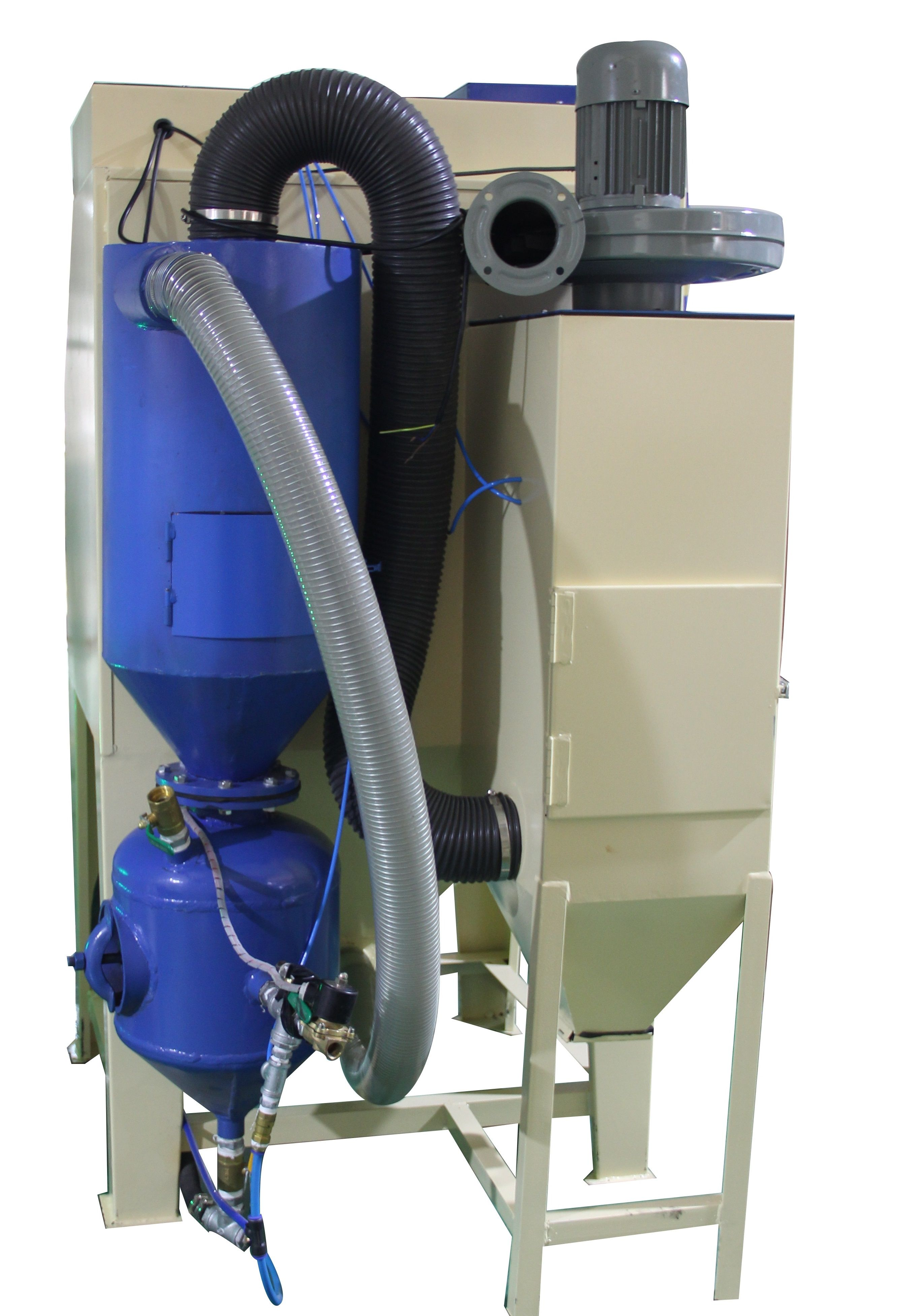 The Cyclone System Of Sandblaster Will Effectively Separating Stone Fuel Filters Abrasives And Rust Enables Cartridge Filter Device Only Collect Dust