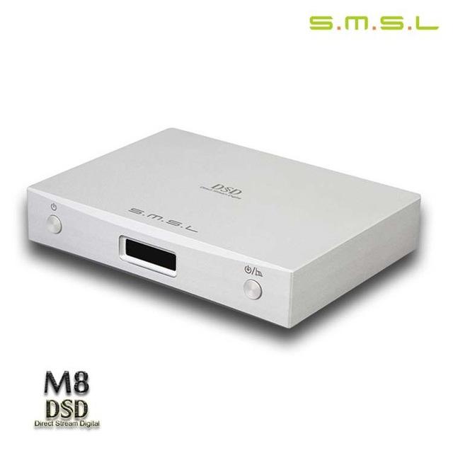 249.99$  Buy now - http://alidch.worldwells.pw/go.php?t=32734719395 - New SMSL M8 HiFi 2.0 Digital Audio Decoder DAC ES9018/XMOS/32Bit Input USB/Coaixal/Optical Support DSD 32Bit/384KHz OLED Display 249.99$