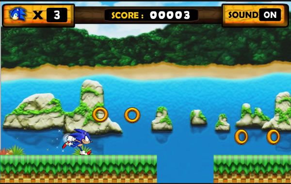 Sonic runner is a perfect game for those addicted to the cartoon type of games!