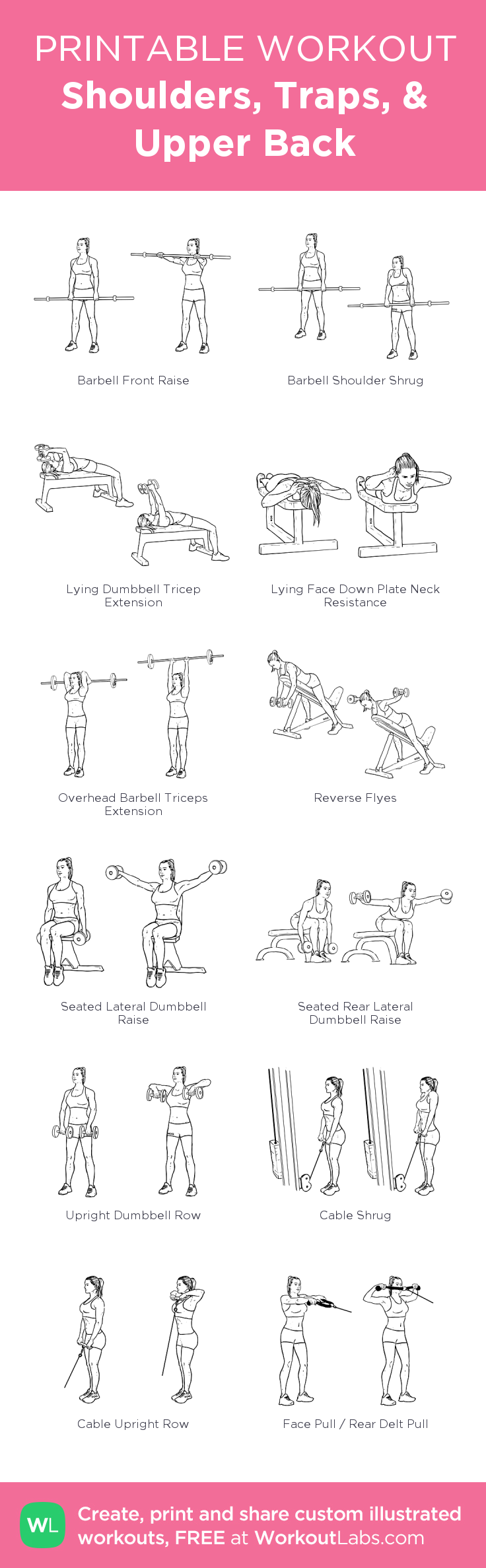 Shoulders, Traps, & Upper Back:my visual workout created at WorkoutLabs.com • Click through to customize and download as a FREE PDF! #customworkout #trapsworkout Shoulders, Traps, & Upper Back:my visual workout created at WorkoutLabs.com • Click through to customize and download as a FREE PDF! #customworkout #trapsworkout Shoulders, Traps, & Upper Back:my visual workout created at WorkoutLabs.com • Click through to customize and download as a FREE PDF! #customworkout #trapsworkout Sh #trapsworkout