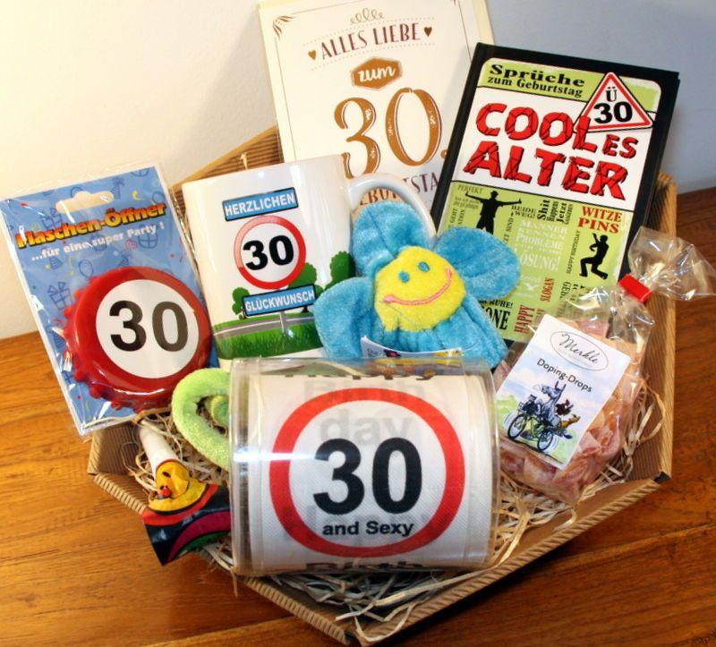 20 Ideen Fur Lustige Geschenke Zum 30 Geburtstag 30th Birthday