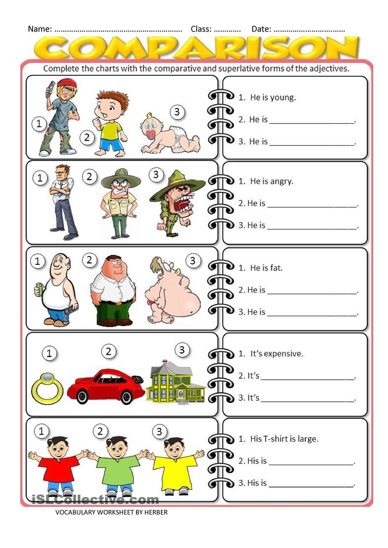 Comparison Picture Worksheets Google Search Printable Worksheets Worksheets Free Bee Classroom [ 1440 x 1018 Pixel ]